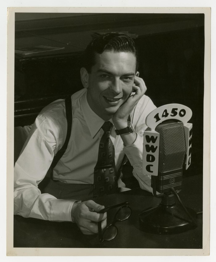 Voice of America radio host and jazz promoter, Willis Conover
