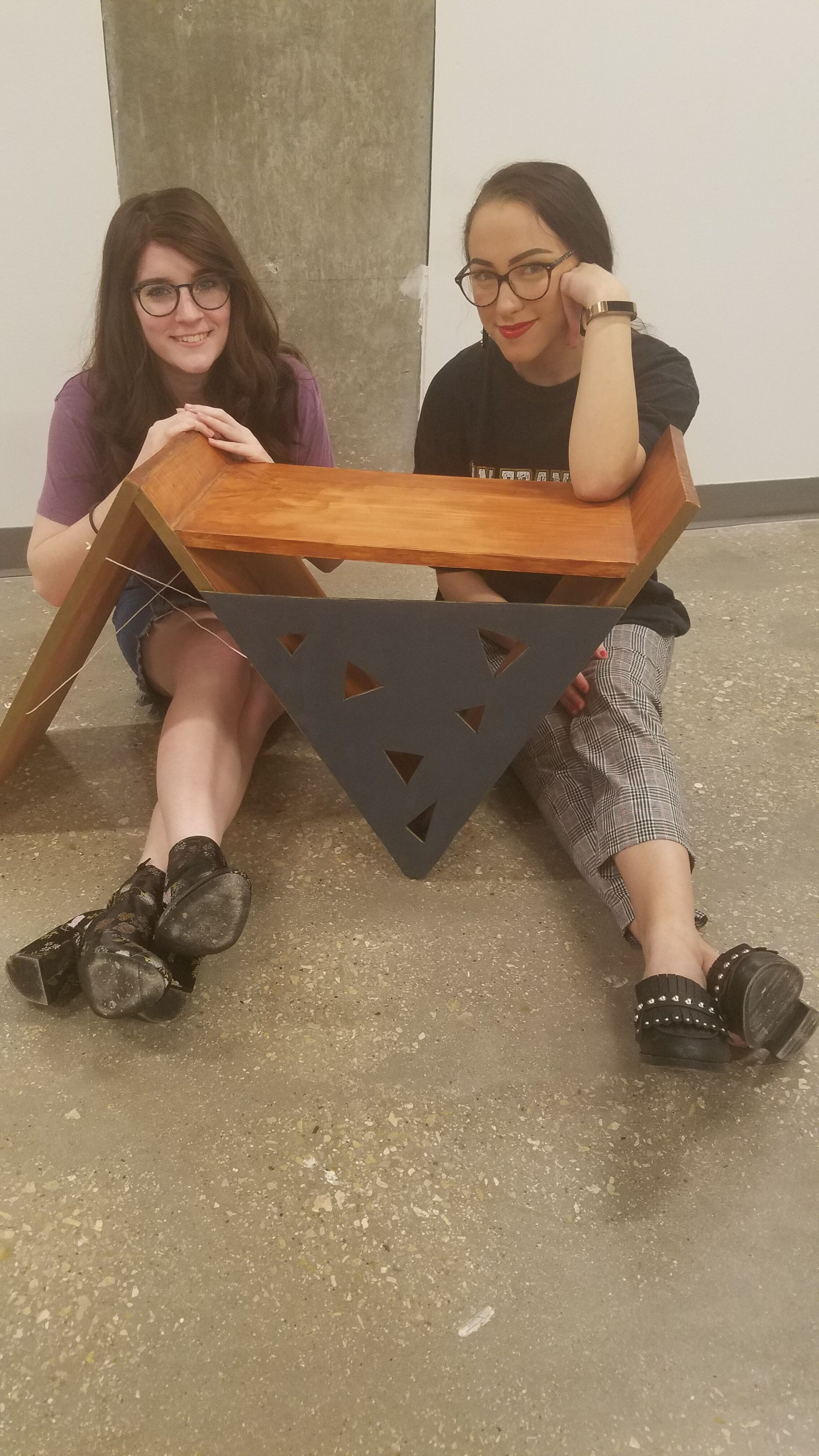 Abby Stephens and Josie King, Sculptures for a Cause